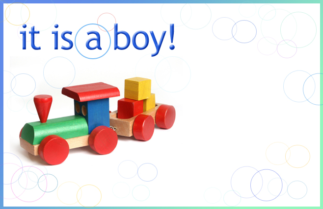 Its a boy - Train